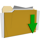 folder download actions  iconizer