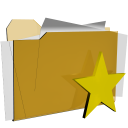 folder favorite star actions  iconizer