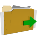 folder move actions  iconizer