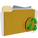 folder recycle delete actions  iconizer