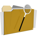 folder search look zoom actions iconizer