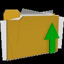 folder upload actions iconizer
