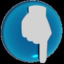 point down  iconizer