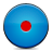 blue button record icon
