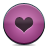 button heart pink icon