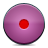 button pink record icon
