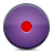 button record violet icon