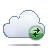 cloud exchange icon