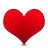 favorite full heart love icon