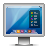 display glossy mac screen icon