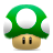 mario mushroom one super up icon