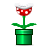 mario piranha plant super icon