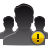 alert group user icon