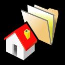 BeOS дом папки