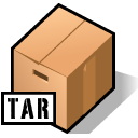 BeOS tar archive