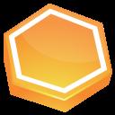 orange area