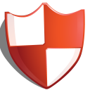 shield protection red