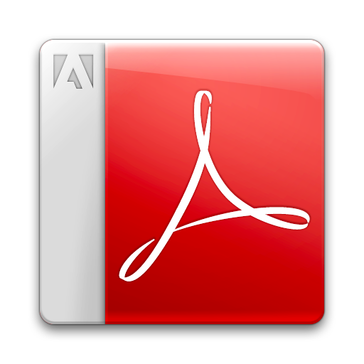 acrobat reader adobe pdf icon