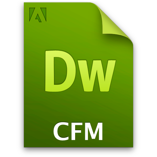 cfm doc document file icon
