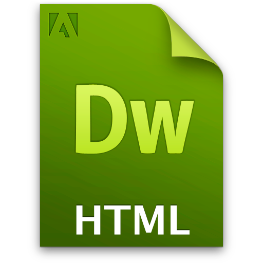 doc document file html icon