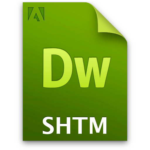 doc document file shtm icon