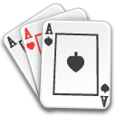 aces cards game poker icon