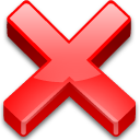 cancel close cross delete exit no remove icon
