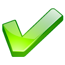 accept check check mark checkmark good green ok yes icon