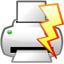 file power print quick icon