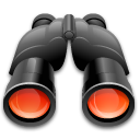 binoculars find search icon