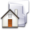 folder home house icon