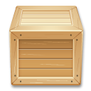 box inventory shipment wood icon