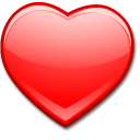 favourite heart love package icon