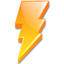 lightning power icon