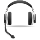 headset support voice icon
