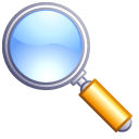 find goggle magnifying glass search zoom icon
