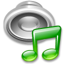 music play sound speaker icon