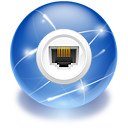 connect internet network icon