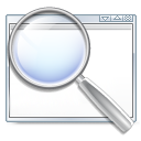 find magnifying glass search zoom icon