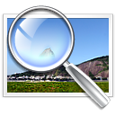 find image magnifying glass search zoom icon