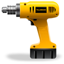 construction drill package tool utilities icon
