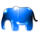elephant animal icon