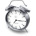 alarm clock hours time icon