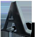 a d font letter z icon
