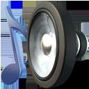 music sound speaker icon