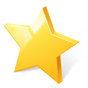 bookmark rate rating star toolbar icon