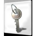 encrypted file key locked icon