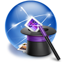 connection hat internet wizard icon