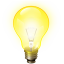 brainstorm bulb idea jabber light icon