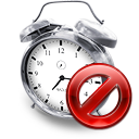 clock disabled kalarm icon